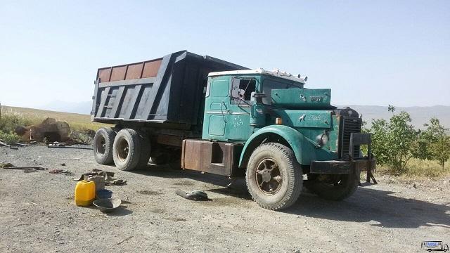 جولان کامیون ۵۰ ساله ۲۰۰ میلیون تومانی در جادهها