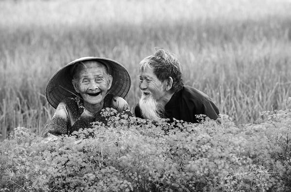 یک زوج قدیمی ویتنامی