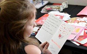سرباز 104 ساله آمریکایی هزاران نامه ولنتاین دریافت کرد (+عکس)