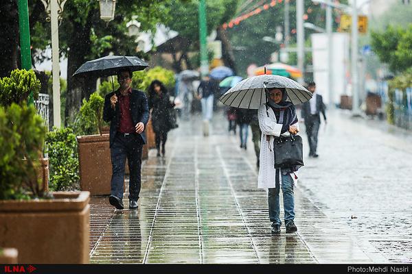 هواشناسی: تهران امشب بارانی میشود