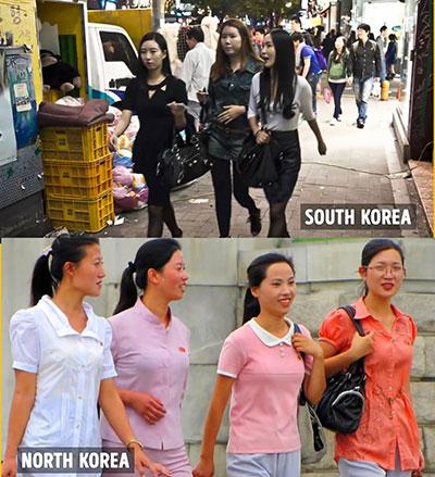 مد در کره شمالی