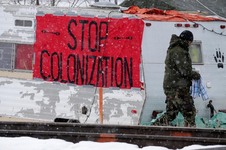بستن خطوط ریلی در کانادا
