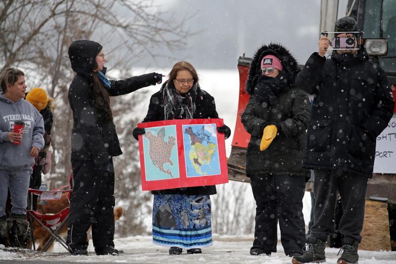 اعتراض مردم کانادا