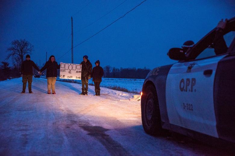 اعتصاب بومیان کانادا