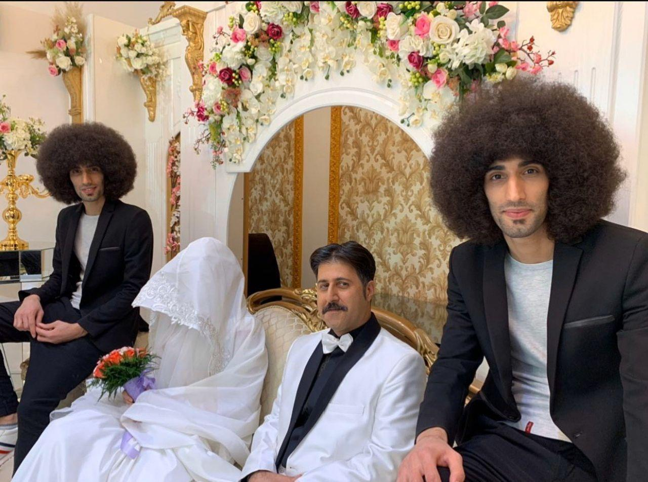 مراسم عروسی رحمت در سریال پایتخت ۶ (عکس)