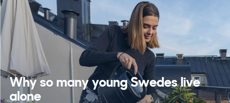 زندگی تنها سوئد