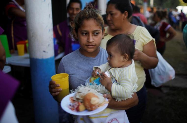 مهاجران در مرزهای مکزیک