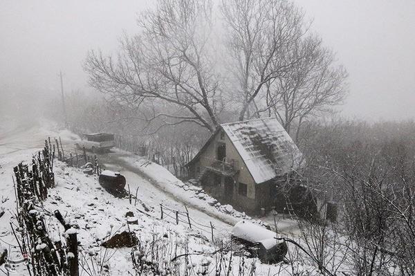 برف و باران و کاهش دما در راه گیلان