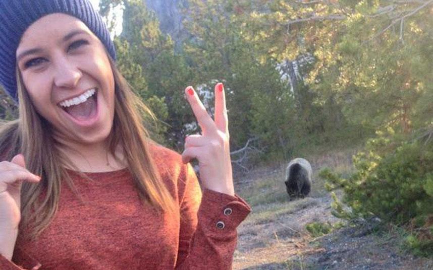 سلفی با خرس
