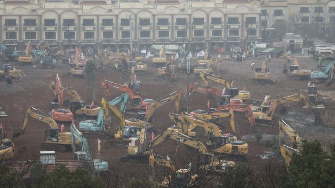رکورد ساخت بیمارستان
