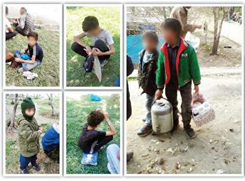 محله ای در تهران؛ اینجا به کودکان مشروب و مواد می دهند تا مثل خروس لاری با هم بجنگند
