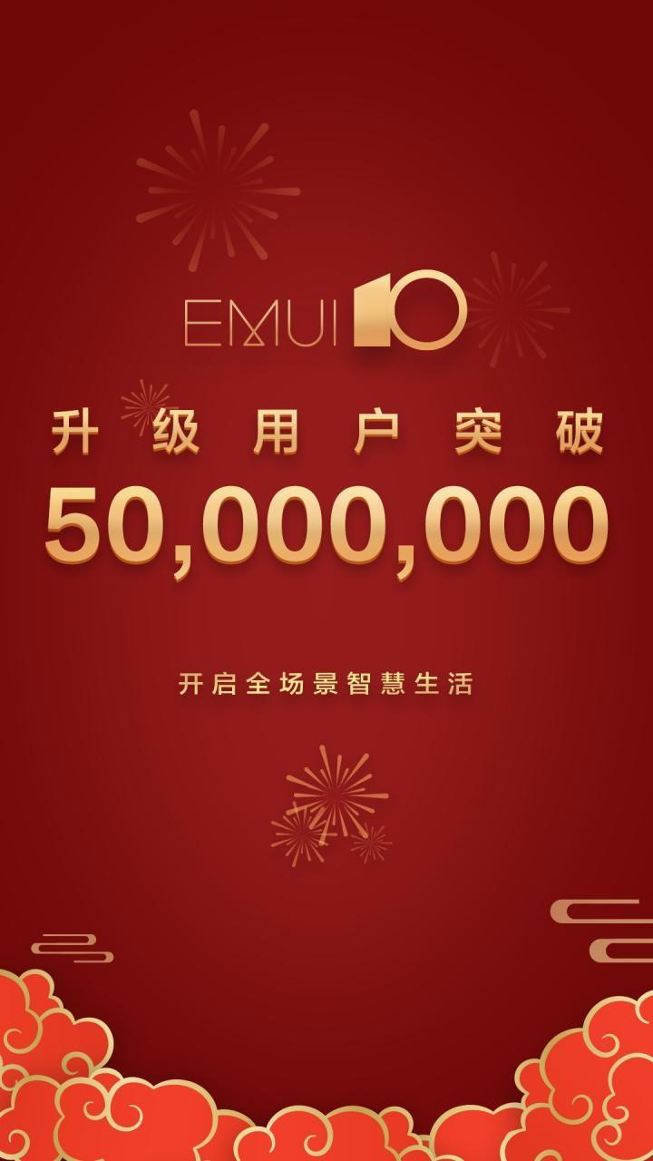 عبور کاربرانEMUI 10 از مرز ۵۰ میلیون نفر