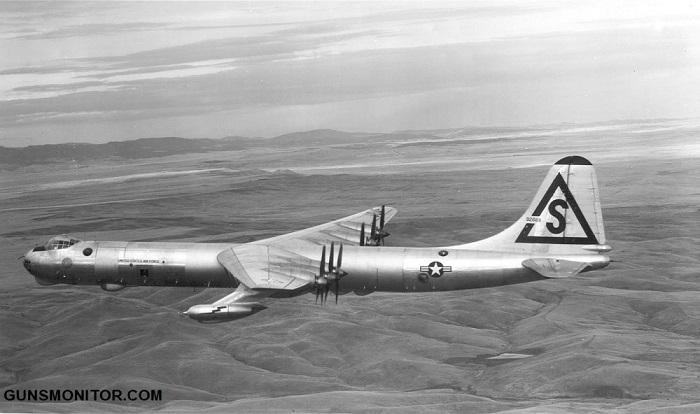 کانویر B-36؛ بزرگترین پرنده نظامی کلاسیک با 39 تن بمب! (+تصاویر)