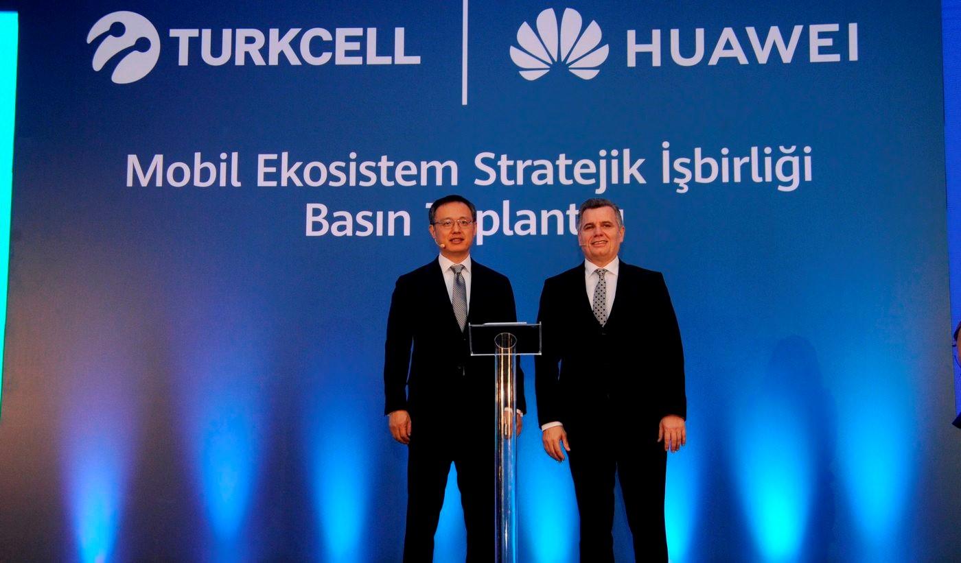 آغاز همکاری Turkcell و هوآوی برای گسترش استفاده از HMS