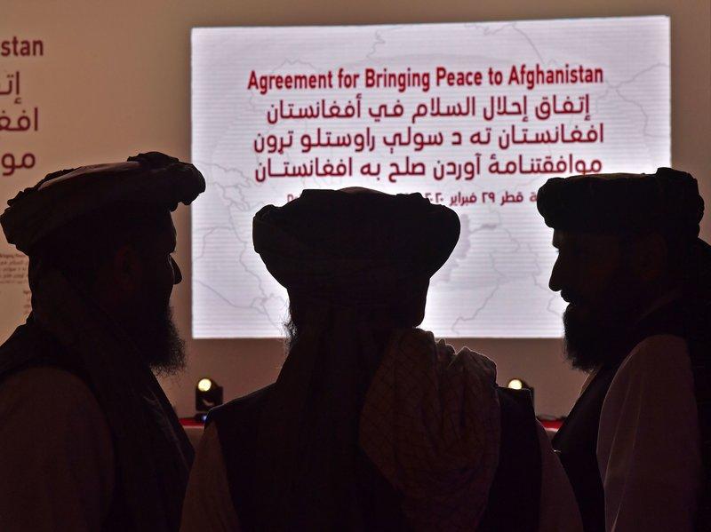 امضای توافقنامه صلح بین آمریکا و طالبان