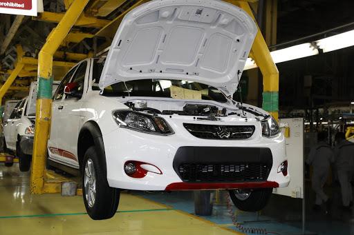 راهاندازی خط تولید بدنه خودروهای