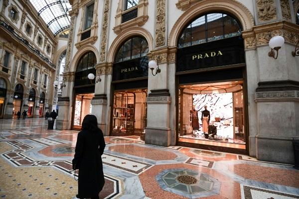 مرکز تجاری میلان ایتالیا