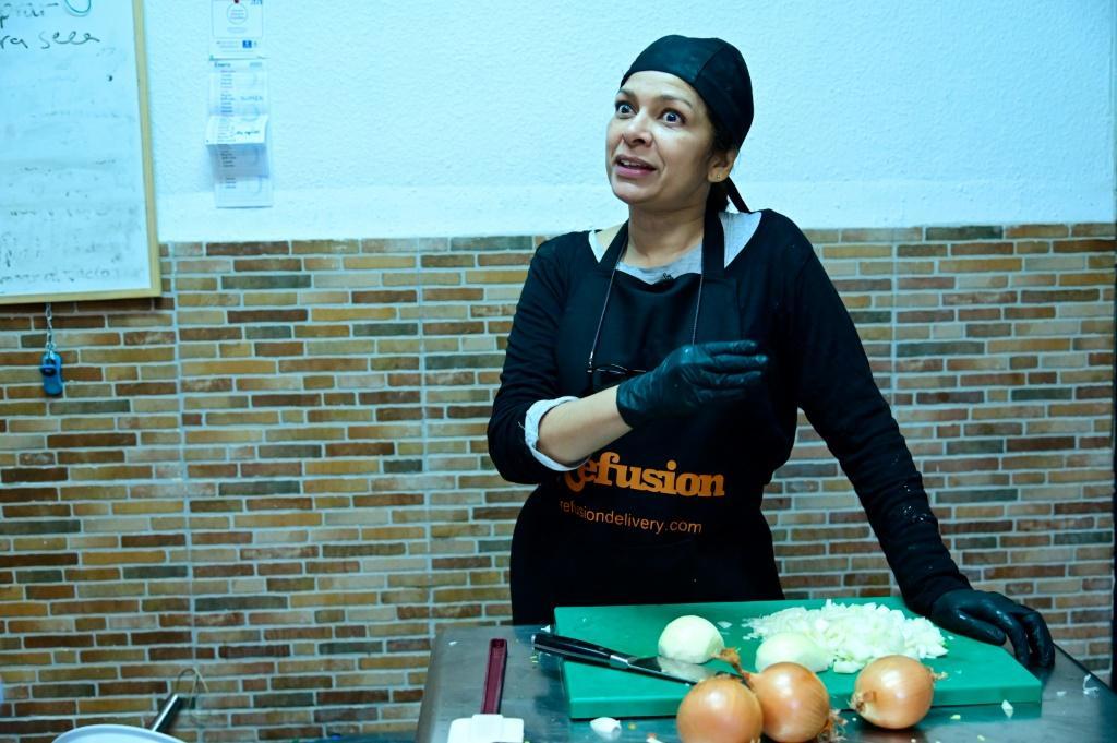 رستوران مهاجران در مادرید