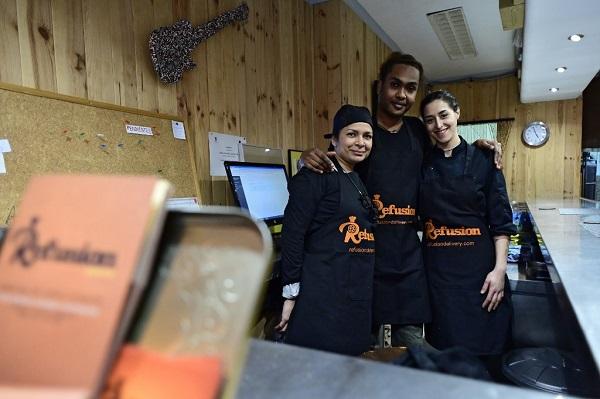 مهاجران رستوران اسپانیا