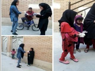 افزایش مبتلایان به کرونا در اصفهان/ توزیع اقدام بهداشتی بین کودکان کار