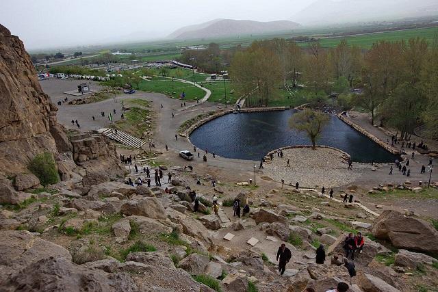بازدید گردشگران از مجموعه جهانی بیستون ممنوع شد