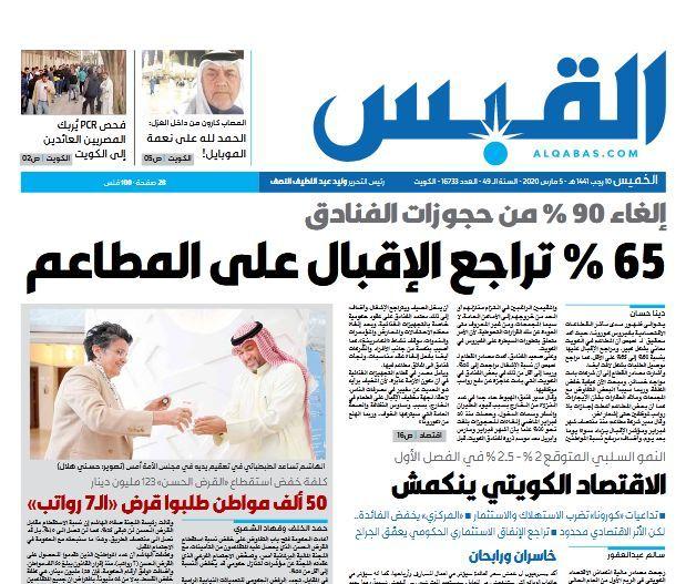 ضربه کرونا به کویت