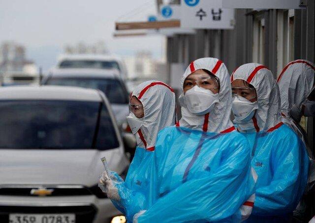 ابتلای ۷۳۸۲ نفر به کرونا در کره جنوبی