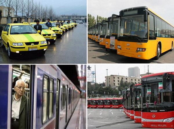 افزایش ۱۱ درصدی نرخ کرایه تاکسیهای تهران تا پایان سال