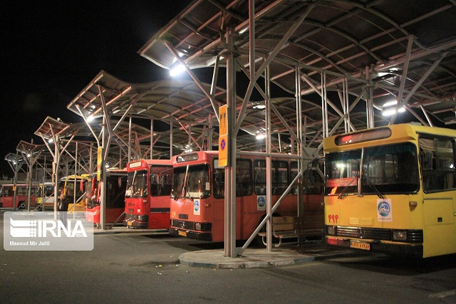 تمام خطوط اتوبوسرانی یزد تعطیل شد