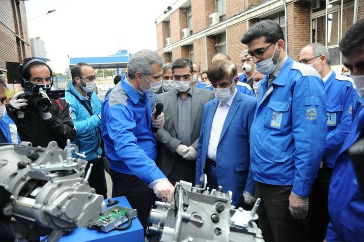 رونمایی  از خط تولید گیربکس 6 سرعته اتومات ایرانی/ سمند، رانا و ۲۰۶ با گیربکس اتوماتیک ایرانی روانه بازار می شود