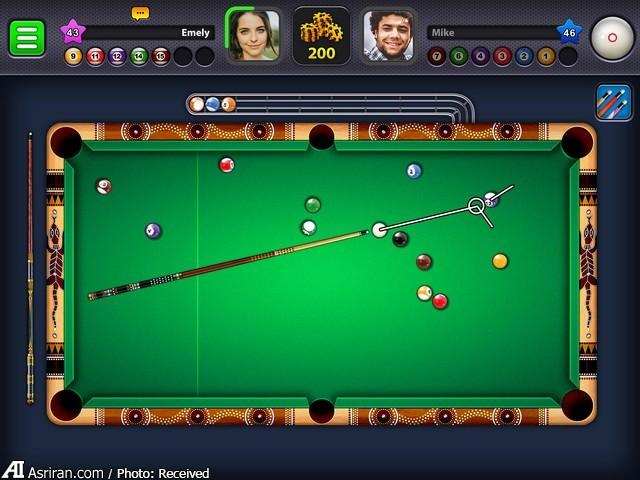 بازی 8 Ball Pool