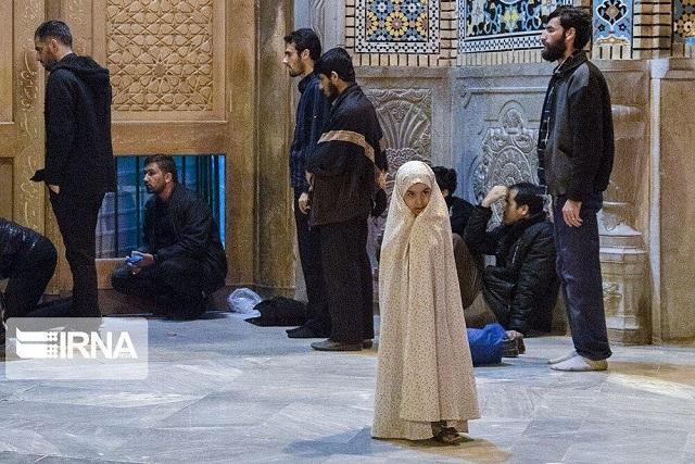 تجمع مخالفان بسته شدن حرم حضرت معصومه (س)