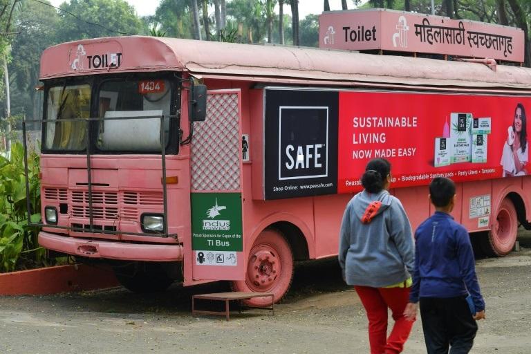 اتوبوس هند سرویس بهداشتی