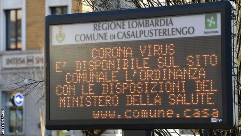 کرونا ایتالیا