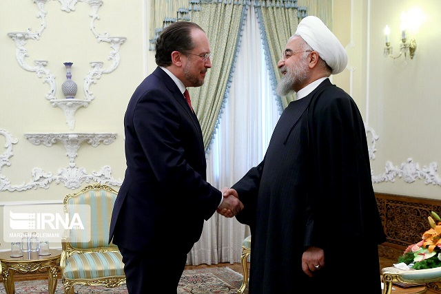 روحانی: تحریم آمریکا مانند کرونا است، ترسش بیشتر از واقعیت آن است