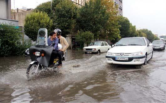 بحران باش باران در 4 استان کشور/ احتمال طغیان رودخانه های غرب کشور