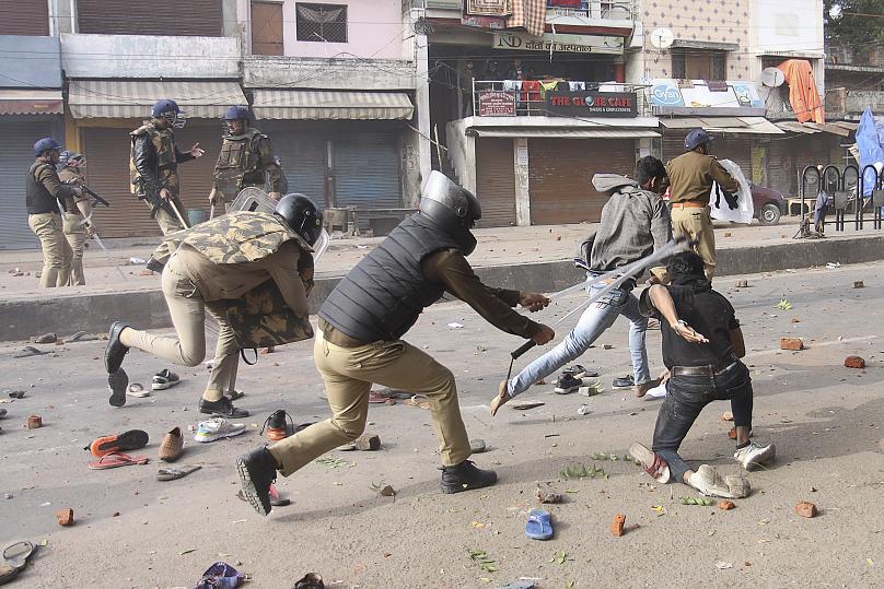 شورش در دهلی هند:
