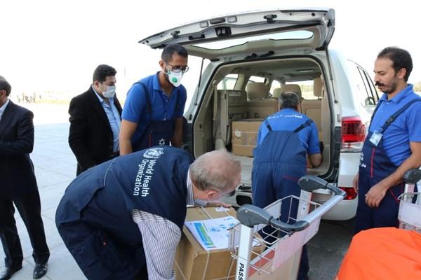 ورود پنجمین محموله کیتهای تشخیصی کرونا به ایران (عکس)