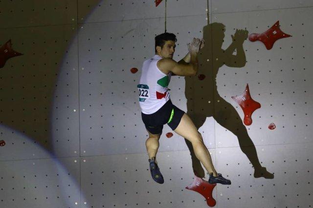 چهارمی علیپور در سومین جام جهانی سنگنوردی