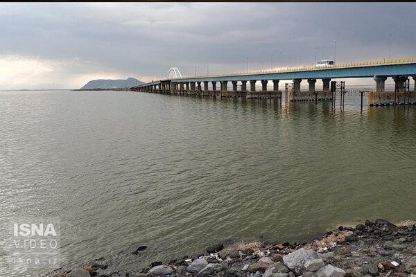 افزایش 2 برابری حجم دریاچه ارومیه نسبت به ابتدای سال زراعی