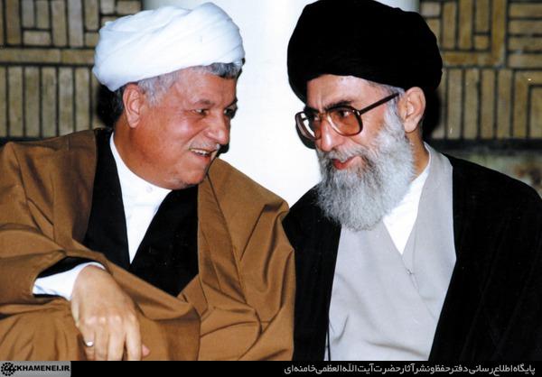 هاشمی به رهبری: نگران پس از من نباشید، نگران خصومت آمریکا باشید
