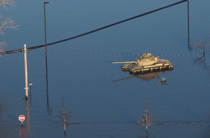 سیل و صدها میلیون دلار خسارت در نبراسکا (+تصاویر/فیلم)