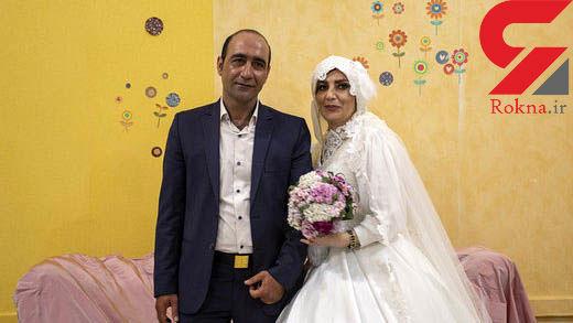 ازدواج 2 کارتن خواب در تهران (عکس)