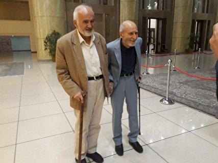 یک عکس و هزار حرف؛ بهزاد نبوی و احمد توکلی