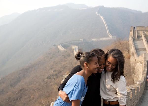 پیام تبریک باراک اوباما به همسرش به مناسبت روز مادر