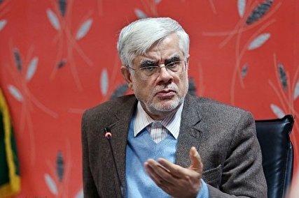 عارف: نه آمریکا و نه خاورمیانه آمادگی جنگ را ندارند/ برجام بهانه خوبی بود که مذاکره در سایر زمینهها نیز شروع شود