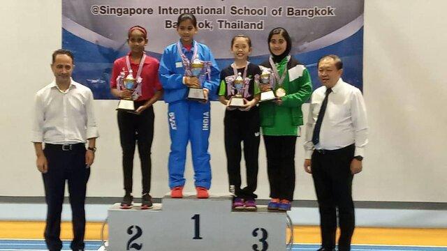 مدال برنز پینگپنگ آسیا برای دختر نماینده ایران