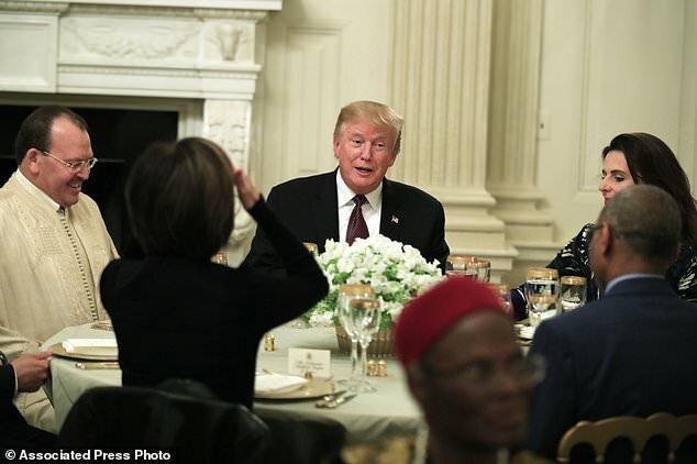 برگزاری مراسم افطار در کاخ سفید (+عکس)