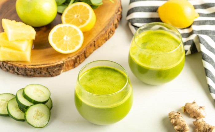 یک نوشیدنی سبز مقابله با التهاب بدن