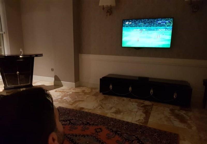 ویلموتس تماشاگر بازیهای هفته پایانی لیگ برتر (+عکس)